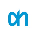 The logo of Albert Heijn