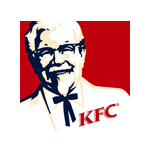 The logo of Kentucky Fried Chicken