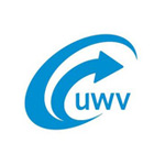 The logo of UWV