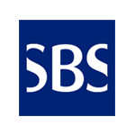 The logo of SBS