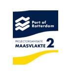 Het logo van Port of Rotterdam