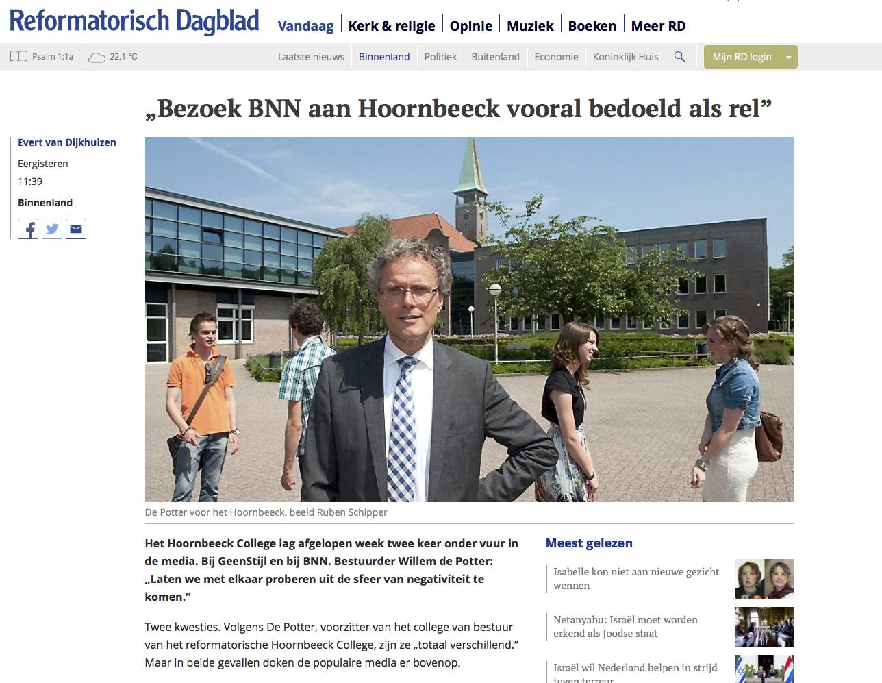 BNN-bezoekt-Hoornbeeck-College-artikel