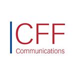 Het logo van CFF Communications