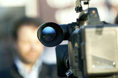 Een foto van een camera